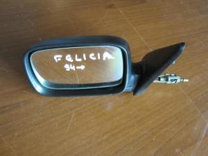 Skoda Felicia 1994-2001 μηχανικός καθρέπτης αριστερός άβαφος