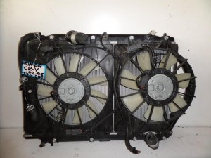 Honda CRV 2002-2007 2.2cc diesel ψυγείο κομπλέ (νερού-βεντιλατέρ)