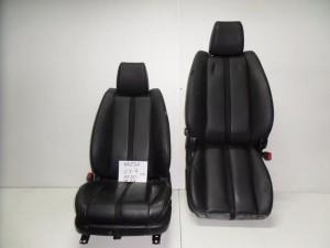 Mazda CX-7 2007-2012 κάθισμα εμπρός με airbag αριστερό-δεξί μαύρο (δερμάτινα)