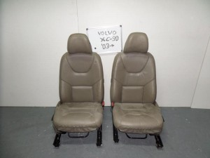 Volvo XC90 2002-2007 κάθισμα με airbag εμπρός αριστερό-δεξί μπέζ (δερμάτινα)