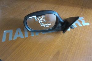 Bmw S3 E90/91 2008-2012 ηλεκτρικός καθρέπτης αριστερός μαύρος 5 καλώδια άσπρο φις