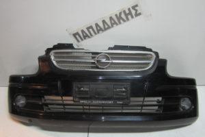 Opel Agila 1999-2003 προφυλακτήρας εμπρός μαύρος
