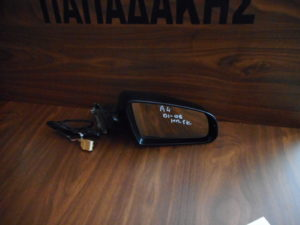 Audi A4 2001-2008 δεξιός καθρέπτης ηλεκτρικός μαύρος 5 καλώδια
