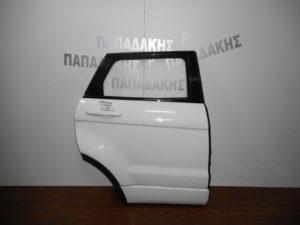 Range Rover Evoque 2011-2018 πόρτα πίσω δεξιά άσπρη