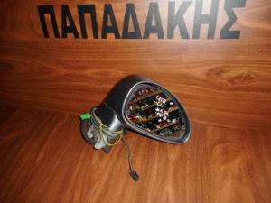 Citroen C4 2006-2011 ηλεκτρικός καθρέπτης δεξιός γκρι σκούρο 7 καλώδια