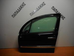 Citroen C3 2002-2009 πόρτα εμπρός αριστερή μαύρη