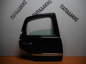 Citroen C3 2002-2009 πόρτα πίσω δεξιά μαύρη