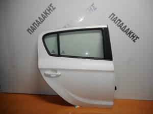 Hyundai i20 2008-2014 πόρτα πίσω δεξιά άσπρη