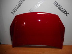 Hyundai i20 2008-2012 καπό εμπρός κόκκινο