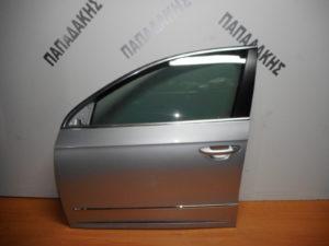 VW Passat 2005-2011 πόρτα εμπρός αριστερή ασημί