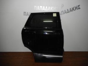 Range Rover Evoque 2011-2019 πόρτα πίσω δεξιά μαύρη (όχι φάσα)