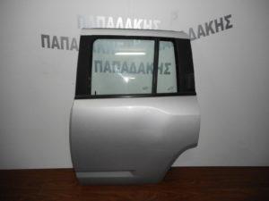 Jeep Compass 2007-2016 πίσω αριστερή πόρτα ασημί