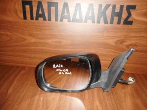 Toyota Rav 4 2006-2009 ηλεκτρικά ανακλινόμενος καθρέπτης αριστερός μαύρος
