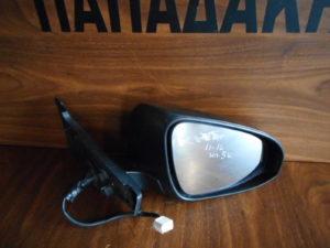 Toyota Yaris 2011-2014 ηλεκτρικός καθρέπτης δεξιός μαύρος 5 καλώδια