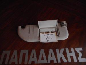 Citroen C1 2006-2014 αλεξήλιο δεξιό