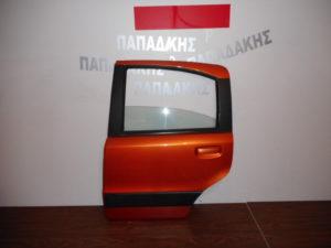 Fiat Panda 2003-2012 πόρτα πίσω αριστερή κεραμιδί 4x4