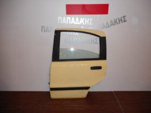 Fiat Panda 2003-2012 πόρτα πίσω αριστερή κίτρινη