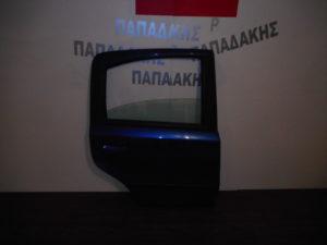 Fiat Panda 2003-2012 πόρτα πίσω δεξιά μπλε