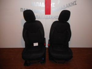 Jeep Renegade 2014-2019 καθίσματα εμπρός ζεύγος μαύρα