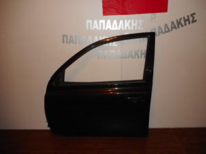 Nissan Micra K12 2003-2010 πόρτα εμπρός αριστερή μαύρη