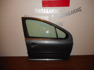 Peugeot 207 2006-2012 πόρτα εμπρός δεξιά μολυβί