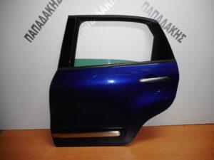 Fiat 500L 2012-2020 πίσω αριστερή πόρτα μπλε