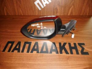 Mazda 6 2008-2012 ηλεκτρικός καθρέπτης αριστερός μπορντό 5 καλώδια