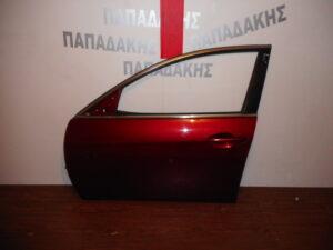 Mazda 6 2008-2012 πόρτα εμπρός αριστερή μπορντό