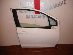 Toyota Yaris 2011-2017 πόρτα εμπρός δεξιά άσπρη