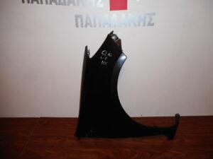 Renault Clio 2006-2013 εμπρός δεξιό φτερό μαύρο 185 ζάντα 15αρα