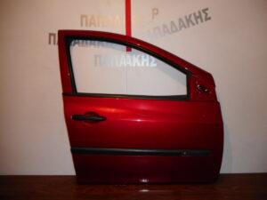 Renault Clio 2006-2013 πόρτα εμπρός δεξιά μπορντό
